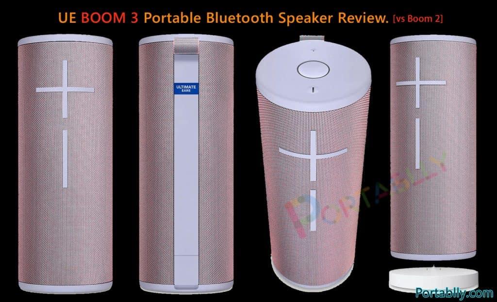 Ultimate Ears BOOM 3 Bluetooth speaker specification reviews