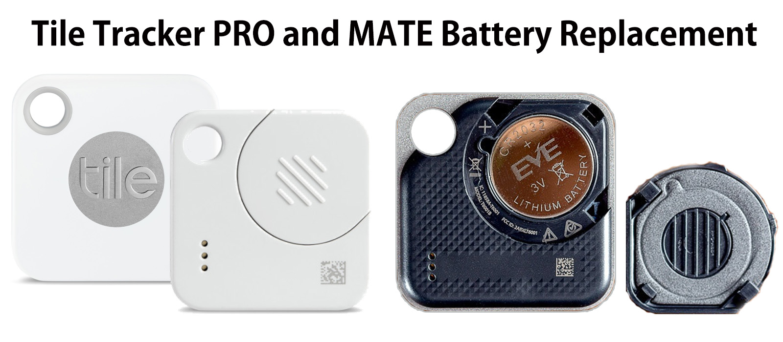 Tile Tracker Pro And Mate Battery Replacement Review 2019