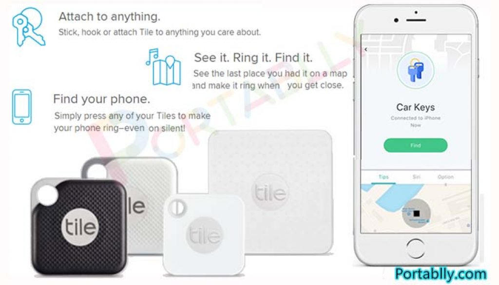 tile tracker app apple android easy to use and customized - Smart Bluetooth Key Finder Tracker review 2021 | Find YOUR PORTABLE lost items quickly by Tile Pro Mate & Slim-Ring, Mobile App, GPS Map