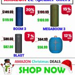 20-30 off ue speaker best christmas deals and yearend Offers 2019 UE Boom 2 vs Megaboom vs Boom 3 Price, Blast vs Megablast vs Megaboom 3 vs Wonderboom PRICE DEAL Roll 2