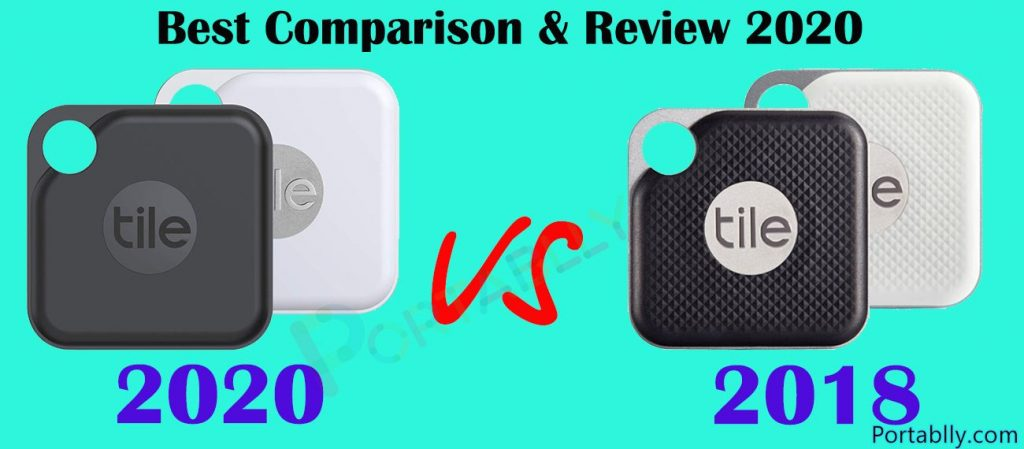 New Tile Tracker PRO 2020 vs 2018 full Review comparison