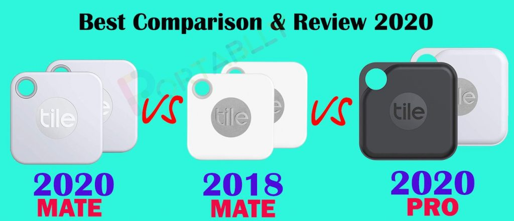 New Tile Tracker mate 2020 vs 2018 and Tile pro 2020  full Review-compressed