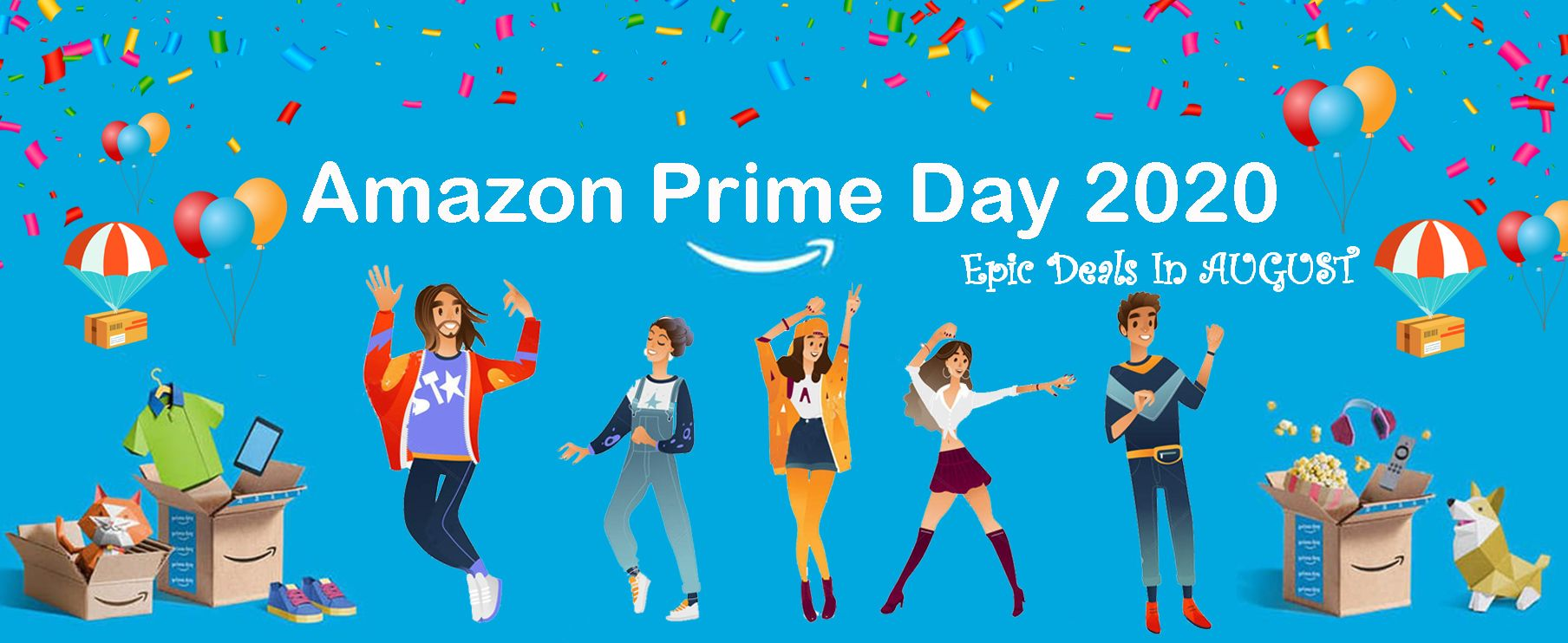 Amazon Prime day 2020 massive shopping holiday when is the next amazon prime day 2020 ? date postponed to August.