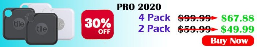 tile pro (2020) - 4 pack and tile pro (2020) - 2 pack Best deals New offers