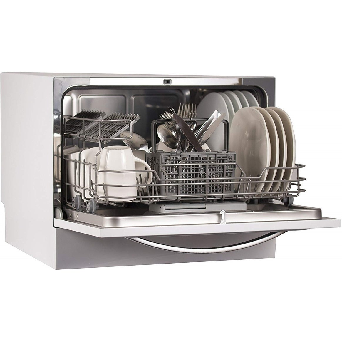 Black & Decker BCD6W 6 Place Setting Compact Countertop Dishwasher
