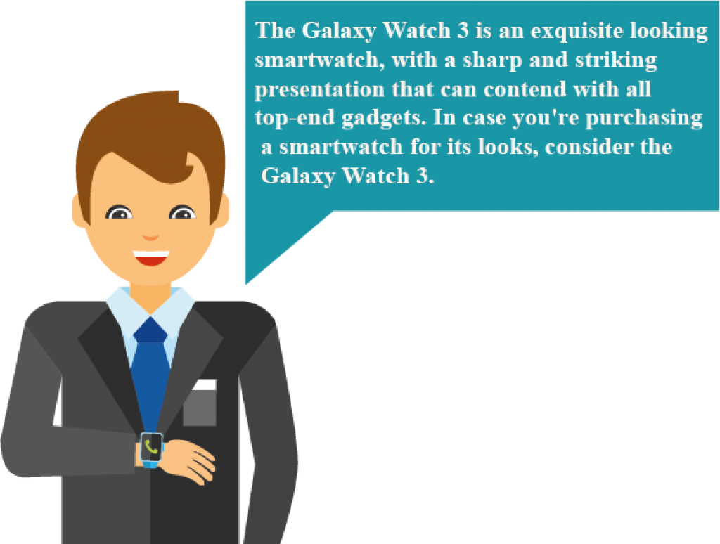 the Samsung Galaxy watch 3 45mm