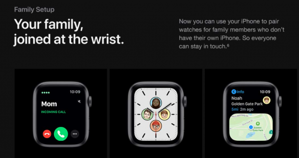 Apple wATCH 6: Pair other watches and stay tune with others.